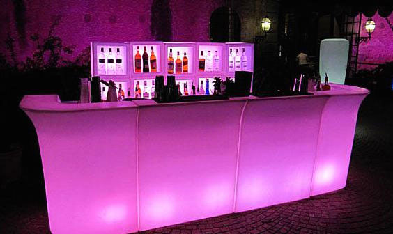 Bar lumineux a led